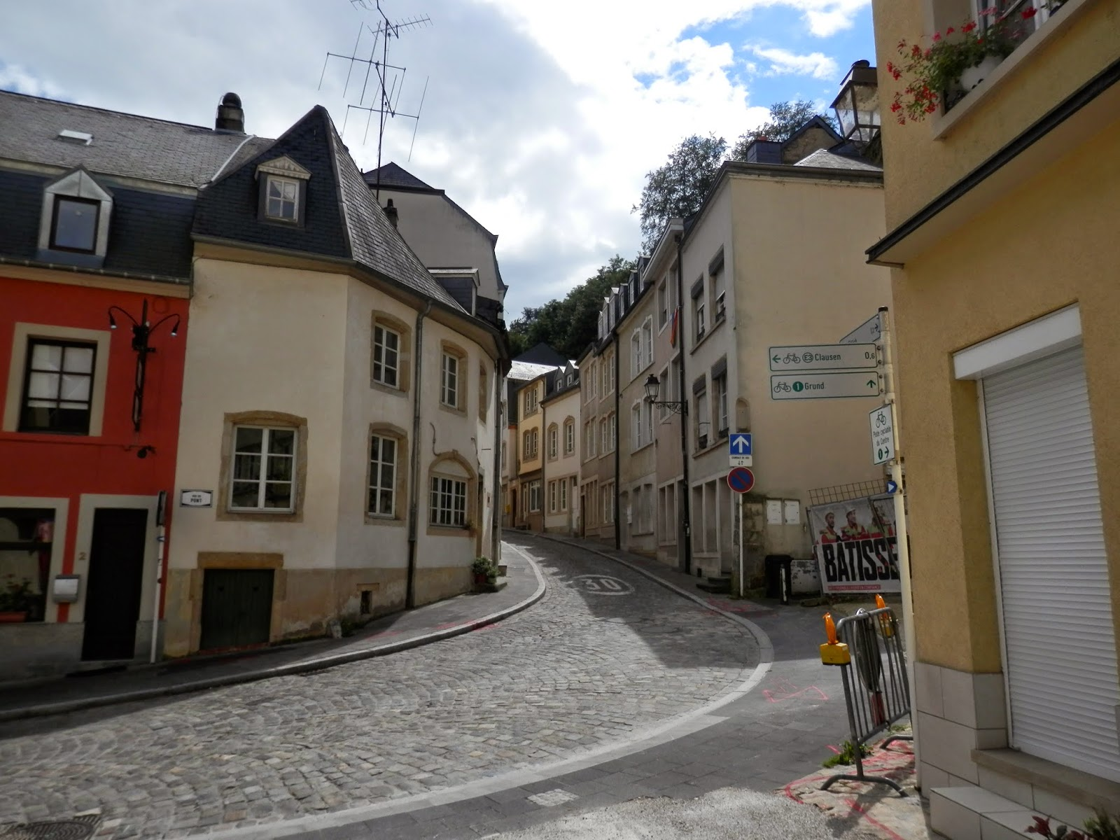 The bock luxembourg city el bock en luxemburgo o for Luxembourg homes