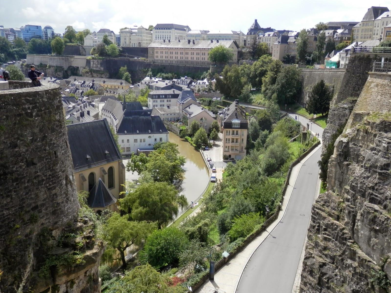 """The Bock, Luxembourg City / El """"Bock"""", en Luxemburgo / O """"Bock"""" en Luxemburgo   Pictures of ..."""